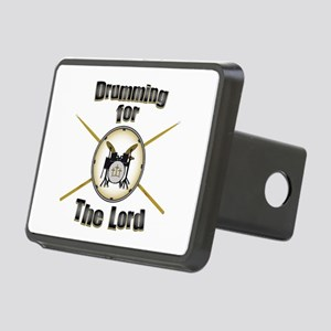 Drumming for the Lord Rectangular Hitch Cover