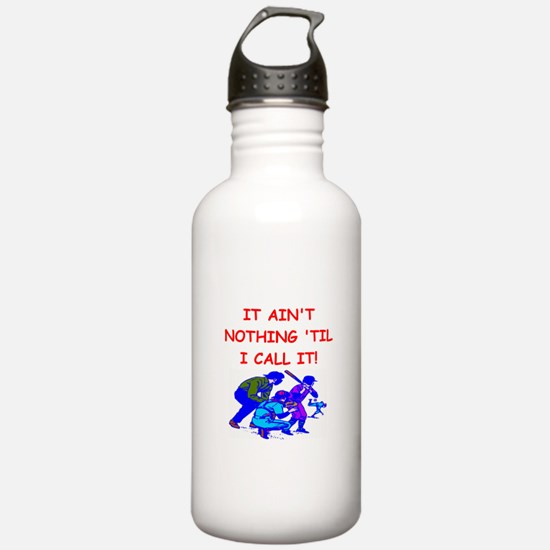 baseball umpire Water Bottle