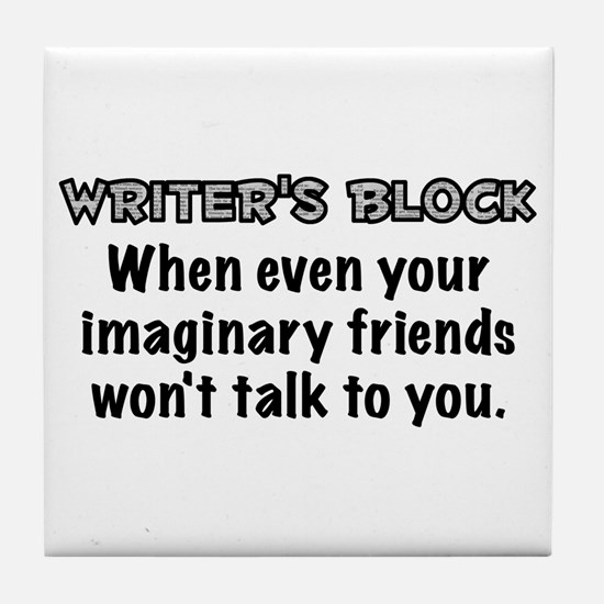 Writers Block Tile Coaster