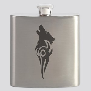 tribal black Flask