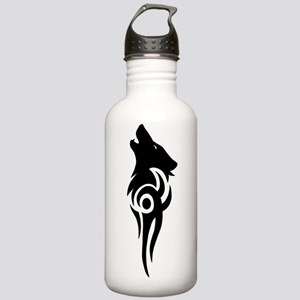 tribal black Stainless Water Bottle 1.0L