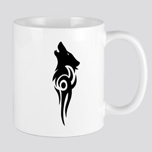 tribal black Mug