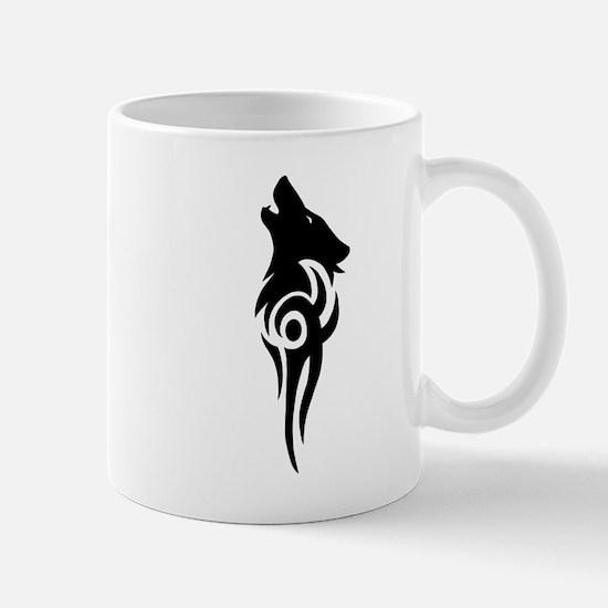 tribal black Mug