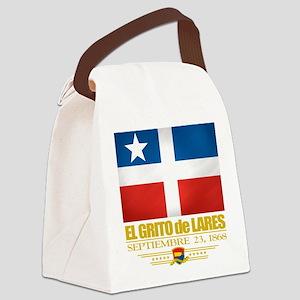El Grito de Lares Canvas Lunch Bag