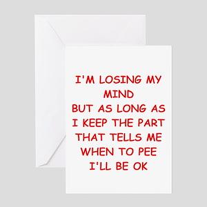 MIND Greeting Card