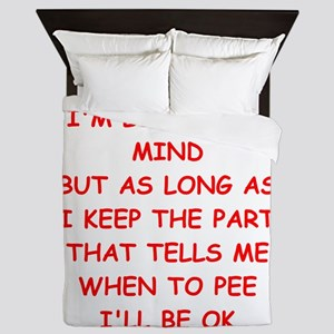 MIND Queen Duvet