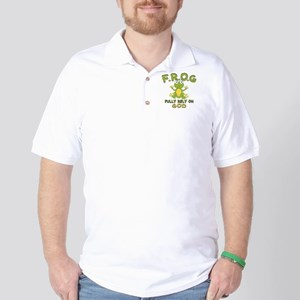 Fully Rely On God Golf Shirt