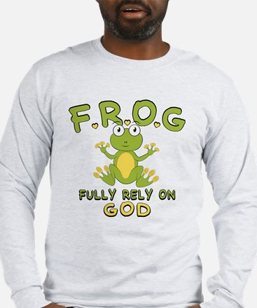 Fully Rely On God Long Sleeve T-Shirt