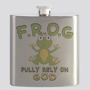 Fully Rely On God Flask