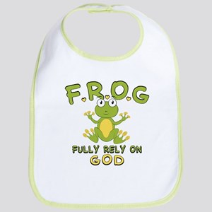 Fully Rely On God Bib