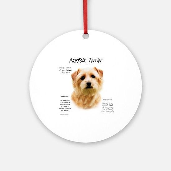 Norfolk Terrier Round Ornament