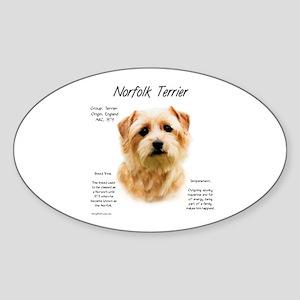 Norfolk Terrier Sticker (Oval)