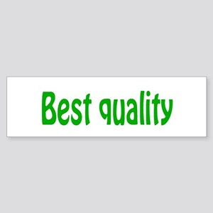 BEST QUALITY Bumper Sticker