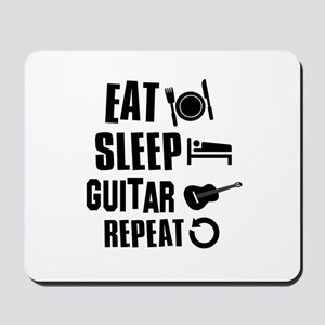 Eat Sleep Guitar Mousepad