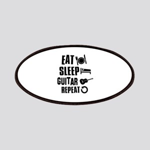 Eat Sleep Guitar Patches