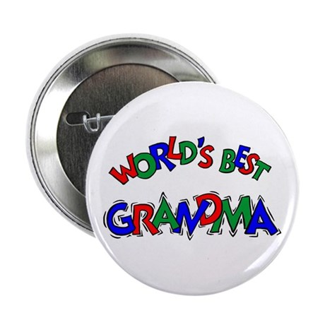 World's Best Grandma Button