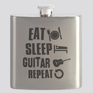 Eat Sleep Guitar Flask