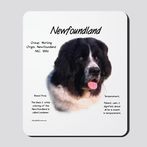 Newf (Landseer) Mousepad