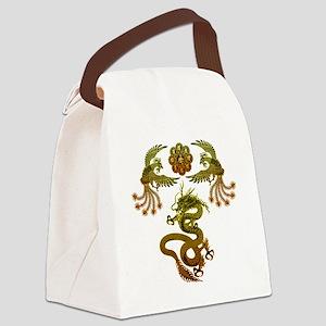 Houou Ryuu Canvas Lunch Bag