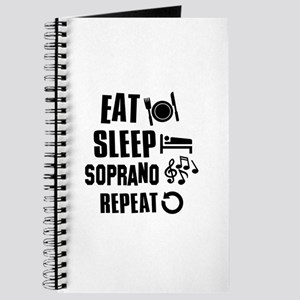Eat Sleep Soprano Journal