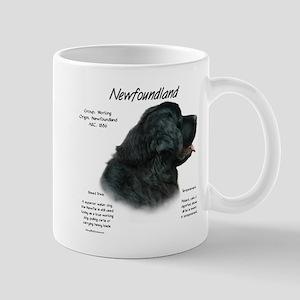 Newfoundland (black) 11 oz Ceramic Mug