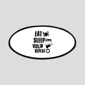 Eat Sleep Violin Patches