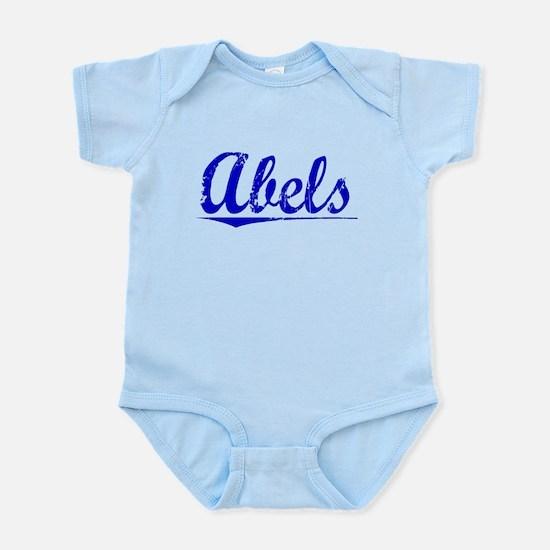 Abels, Blue, Aged Infant Bodysuit