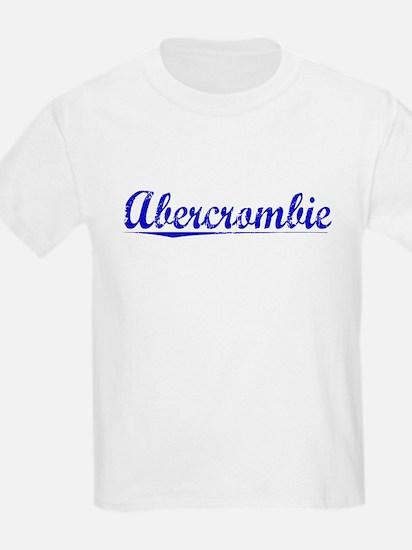 Abercrombie, Blue, Aged T-Shirt