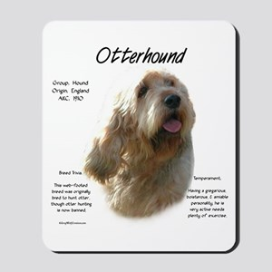 Otterhound Mousepad