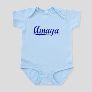 Amaya, Blue, Aged Infant Bodysuit