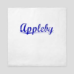 Appleby, Blue, Aged Queen Duvet