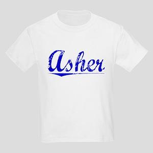 Asher, Blue, Aged Kids Light T-Shirt