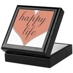 happy life Keepsake Box