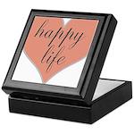happy life Keepsake Box