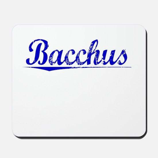 Bacchus, Blue, Aged Mousepad