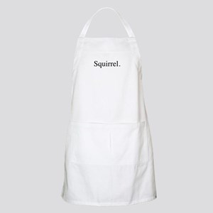 Squirrel BBQ Apron