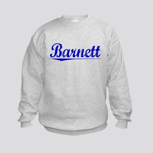 Barnett, Blue, Aged Kids Sweatshirt