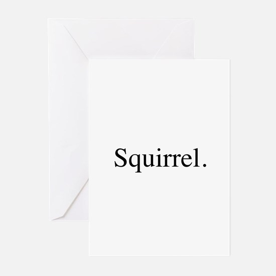 Squirrel Greeting Cards (Pk of 10)