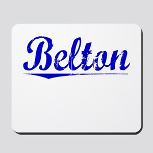 Belton, Blue, Aged Mousepad