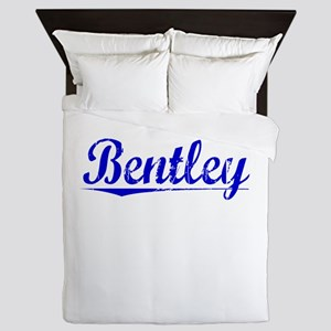 Bentley, Blue, Aged Queen Duvet