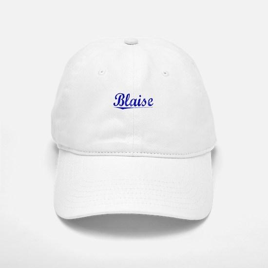 Blaise, Blue, Aged Baseball Baseball Cap