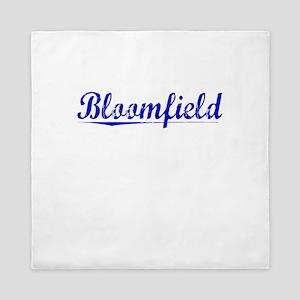 Bloomfield, Blue, Aged Queen Duvet