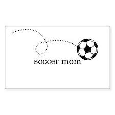 soccer mom Rectangle Sticker