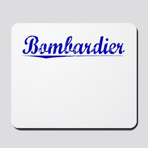 Bombardier, Blue, Aged Mousepad