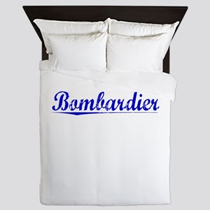 Bombardier, Blue, Aged Queen Duvet