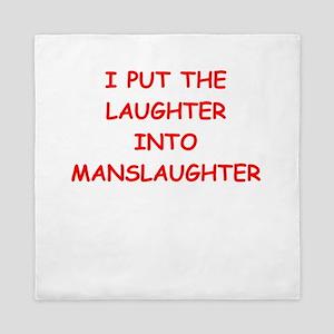laughter Queen Duvet