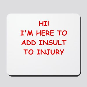 INSULT Mousepad