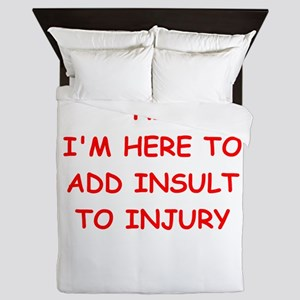INSULT Queen Duvet