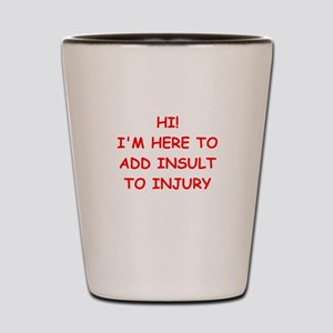 INSULT Shot Glass
