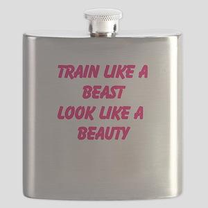 Train like a beast - look like a beauty Flask